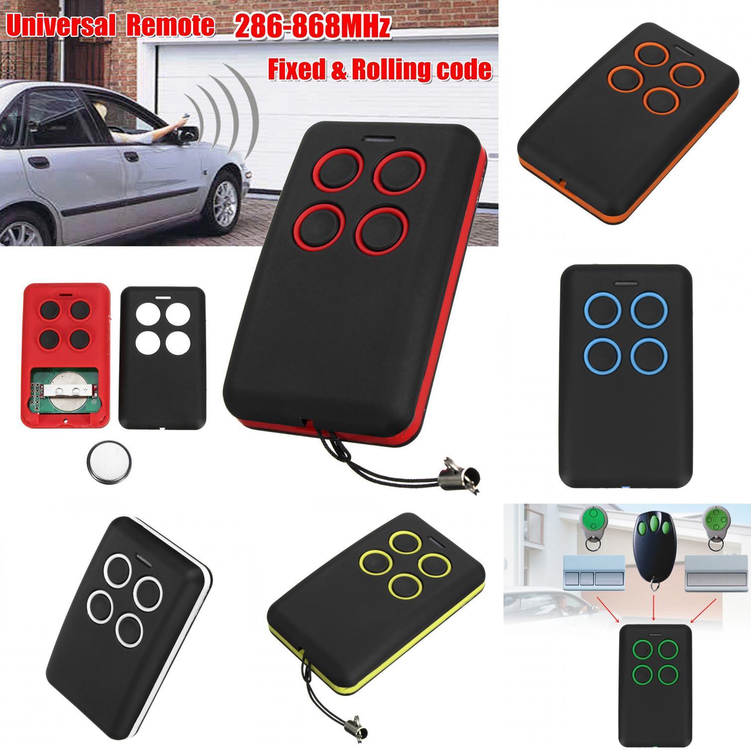 280-868MHz Universal Clone Remote Control Key Electric Gate Garage Door Remote#